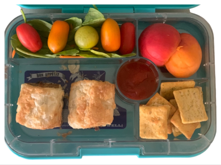 Sandwich free lunch box idea for kids who don't like sandwiches