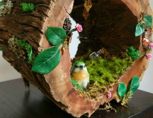delightful fairy houses