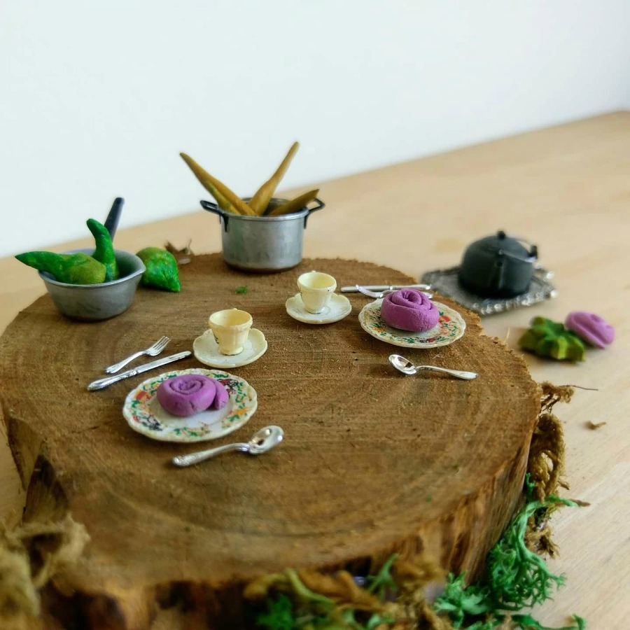 garden tea party for fairies