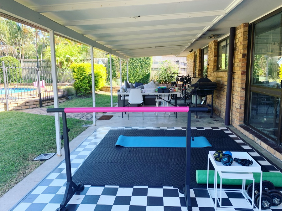 make a space for a home gym
