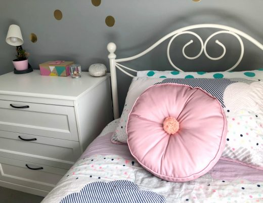 Kmart cushion hack pom pom