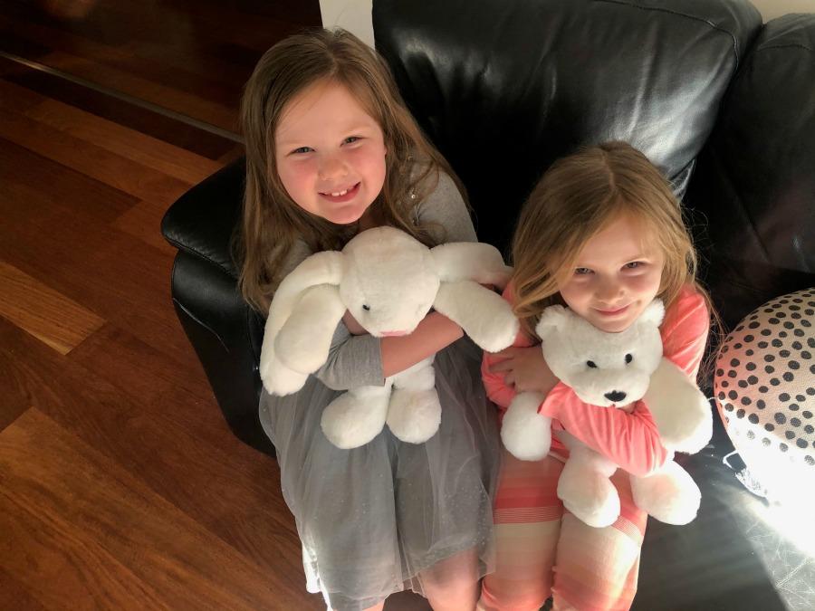 Resoftables polar bear and bunny