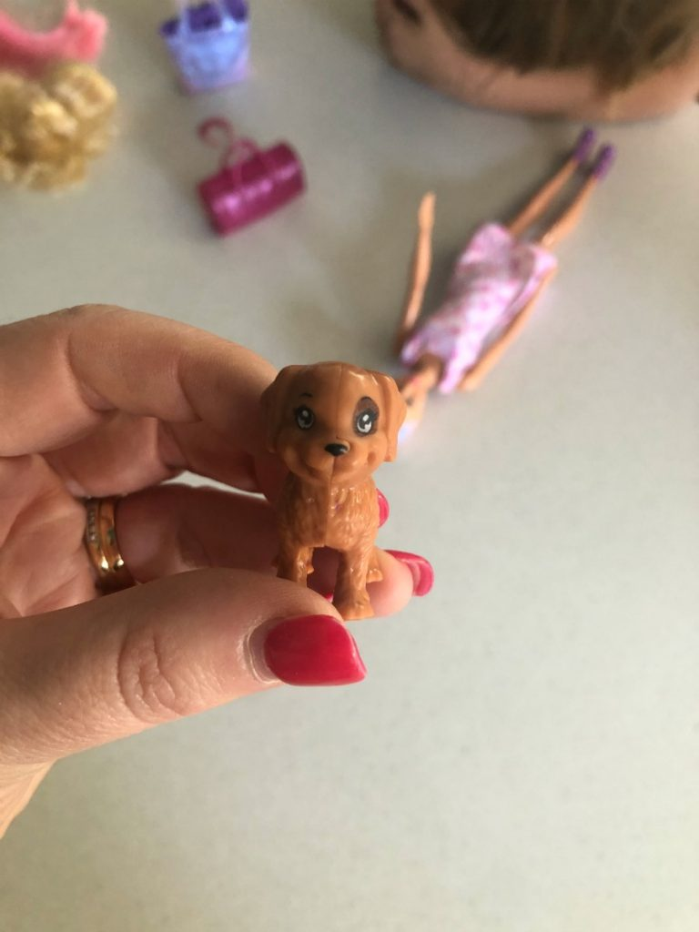 Barbie Puppy in colour reveal