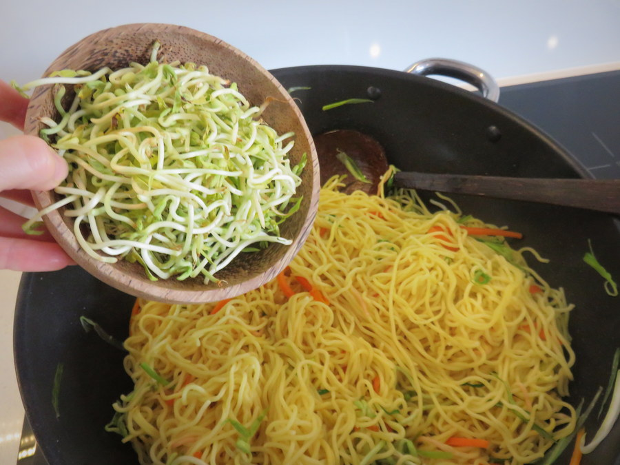 Fried Noodles Recipe - method