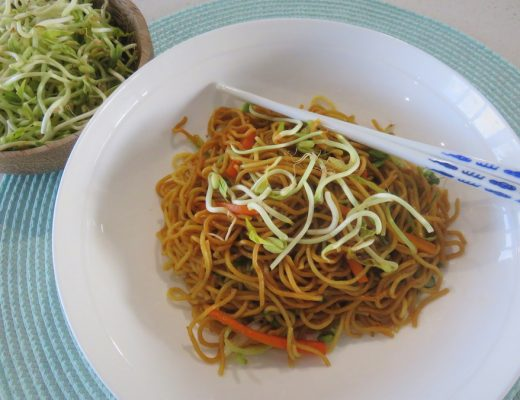 fried noodle recipe