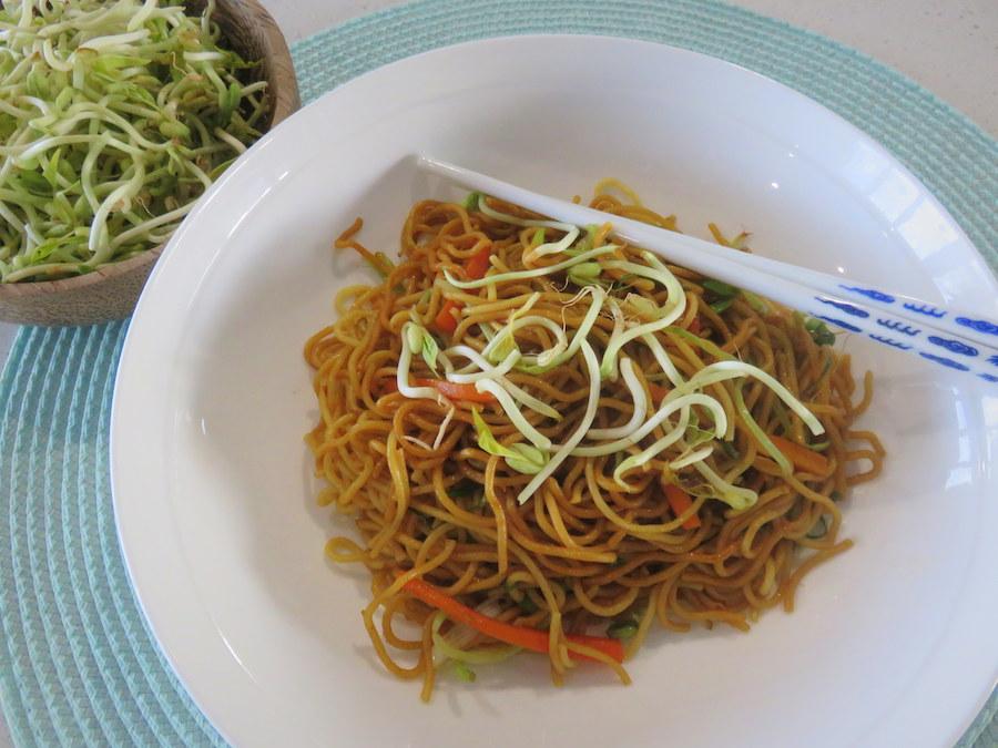 fried noodle recipe
