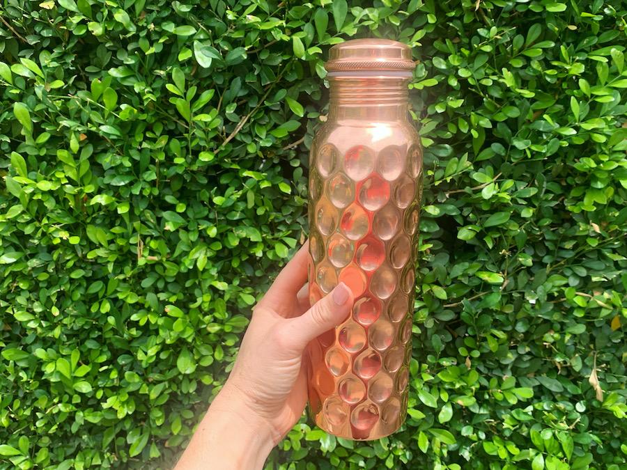 Copper Drink Bottle - Gift Idea