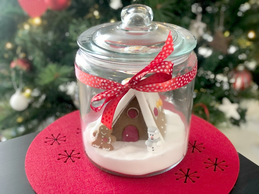 Gingerbread House in a Jar