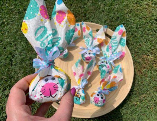 Bunny Napkin Craft