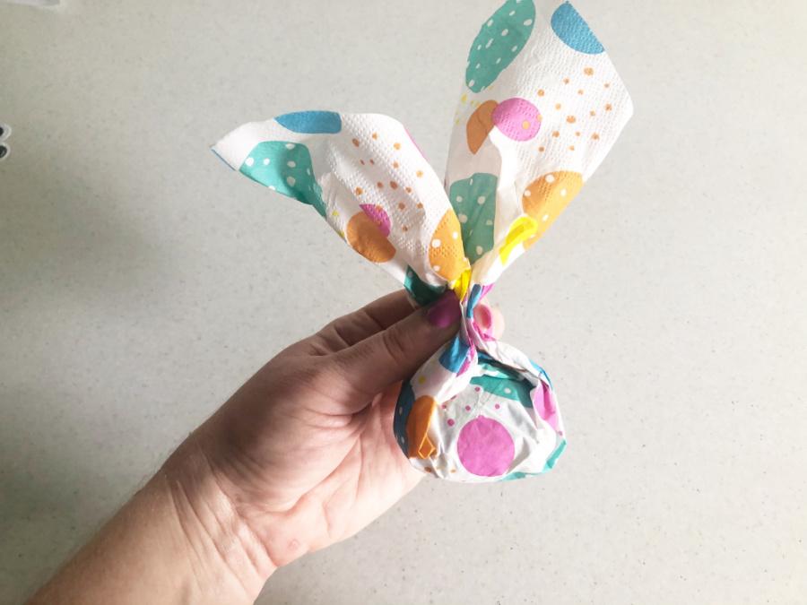 create bunny ears