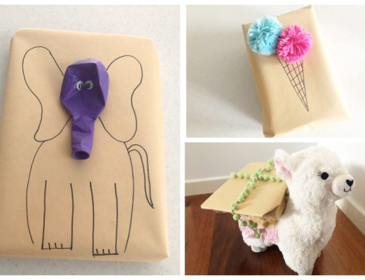 3 Present Wrapping Ideas Kids Will Love