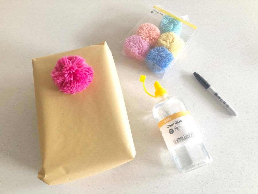 materials for Ice Cream present idea