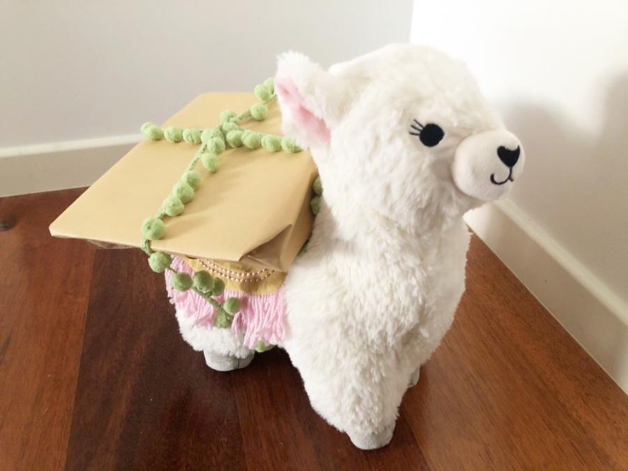 Loaded Llama Present Idea