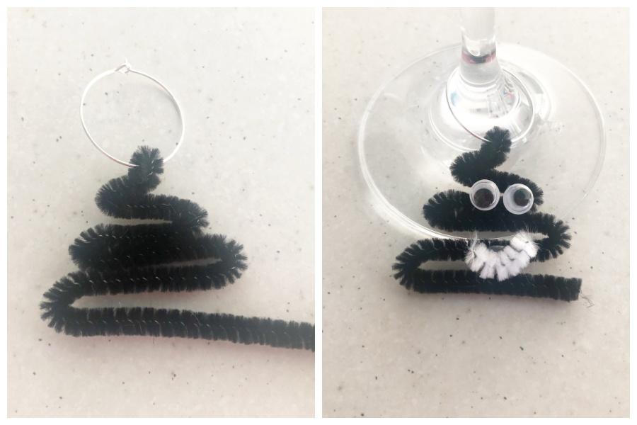 Poo Emoji Wine Glass Ring