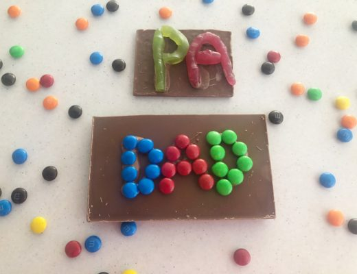 Father's Day Chocolate Craft
