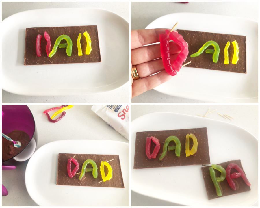 Snakes Dad Chocolate Bar for Father's Day
