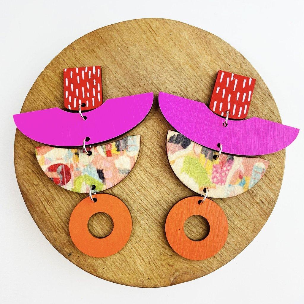 Betwomey Earrings